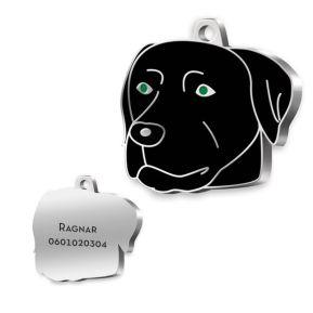 Gravierte Hundemarke Labrador