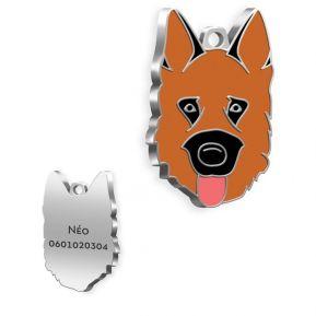 Gravierte Hundemarke Deutscher Schäferhund