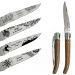 Messer Lagiuole mit verschiedenen Motiven