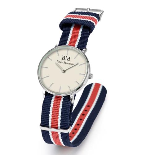 Personalisierte Armbanduhr Nato mit einem Vornamen