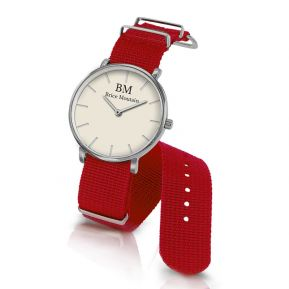 Personalisierte NATO-Armbanduhr mit Namen