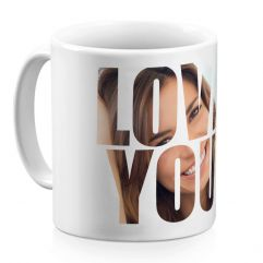 Tasse Love You personalisiert