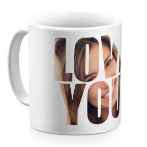 Tasse Love You personalisiert