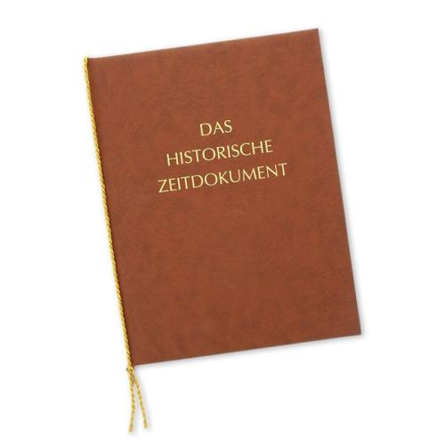 Geschenkmappe Historische Zeitreise