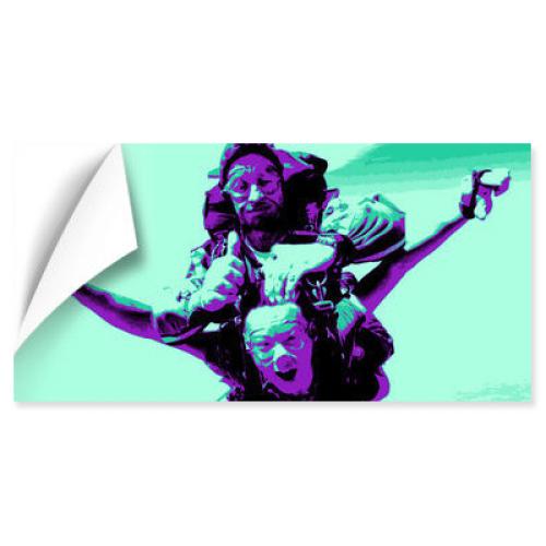 Panoramaposter Pop-Art