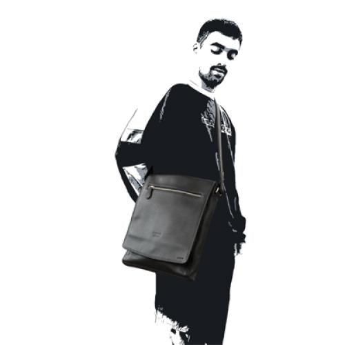 Personalisierte City-Tasche mit Mann