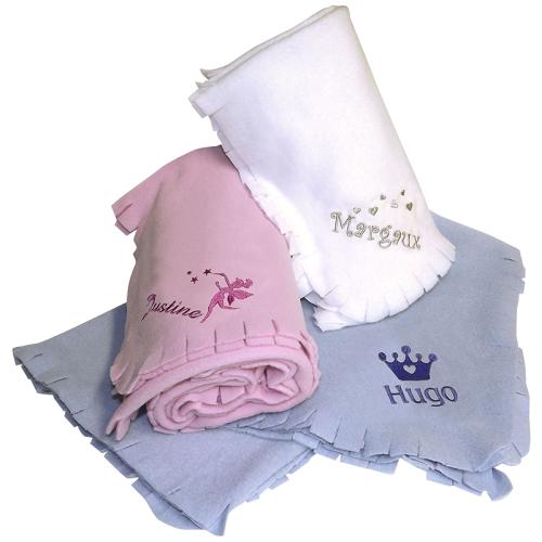 Personalisierte Fleece-Decke für Kinder