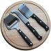 Personalisierte Käseplatte mit Messer