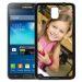 Personalisierte Schale für Galaxy Note 3 schwarz
