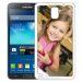 Personalisierte Schale für Galaxy Note 3 weiss