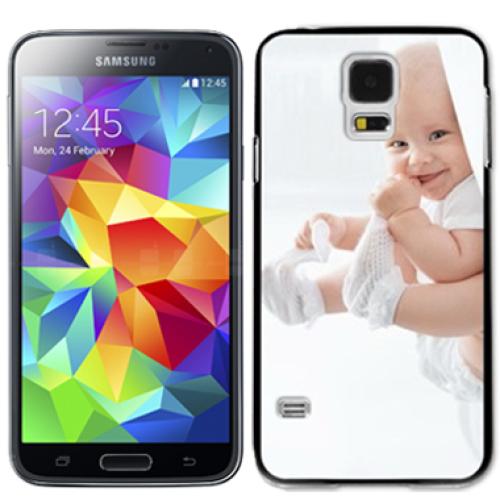 Personalisierte Schale für Galaxy S5 weiss