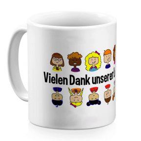 Personalisierte Tasse für Lehrerin