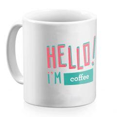 Personalisierte Tasse HELLO