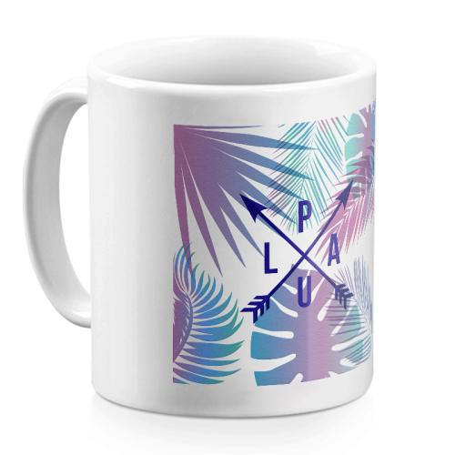 Personalisierte Tasse mit Koordinaten