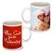 Personalisierte Tasse zum Muttertag rot