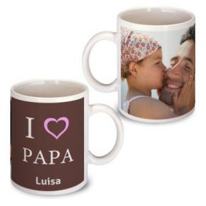 Personalisierte Tasse zum Vatertag