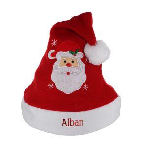 Personalisierte Weihnachtsmütze für Kinder
