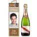 Personalisierte Weinkiste mit Foto braun