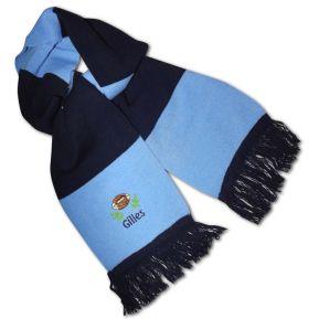 Personalisierter Schal zweifarbig