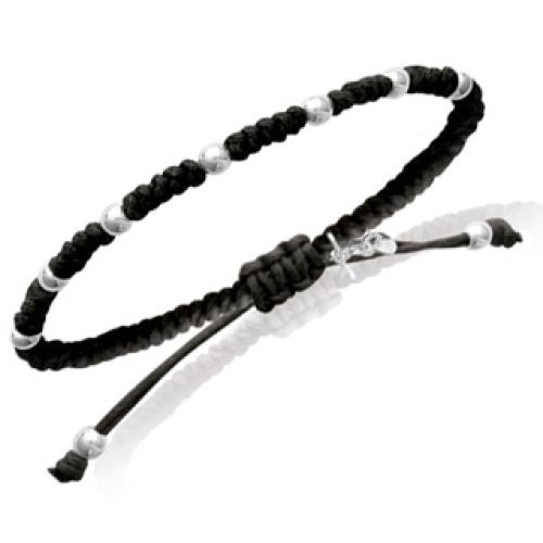 Personalisiertes Armband Grigri schwarz
