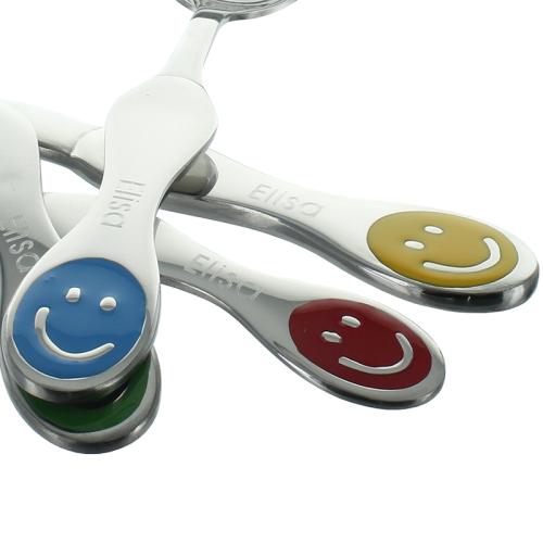 Personalisiertes Besteck-Set Smiley graviert