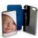 Personalisiertes Karten-Etui für iPhone 6+ blau