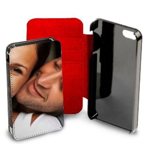 Personalisiertes Karten-Etui für iPhone 6+rot