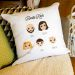 Personalisiertes Kissen We Are Family 3 Personen