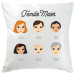 Personalisiertes Kissen We Are Family 6 Personen