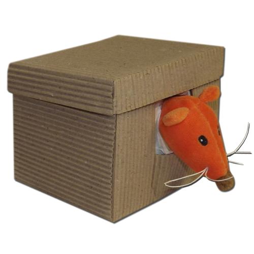 Personalisiertes Schmusetuch Eichhörnchen Box