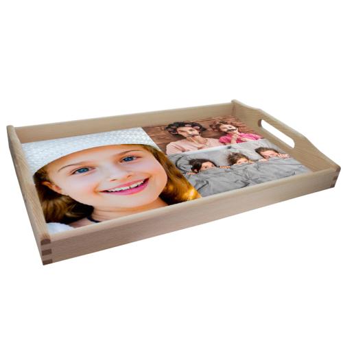 Personalisiertes Tablett mit Fotomontage
