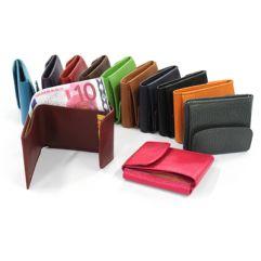 Brieftasche Leder mit Gravur