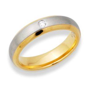 Ring Zirkonia mit Gravur 9083