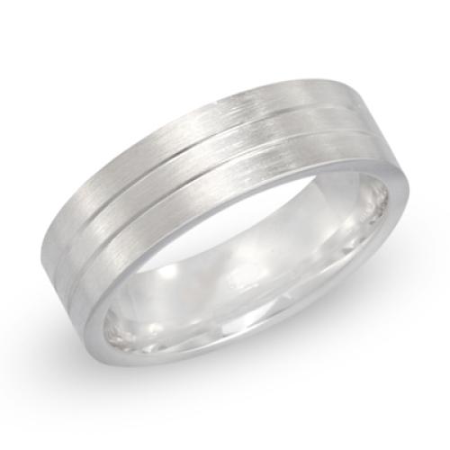 Ring Silber mit Gravur 8511