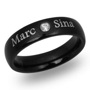 Ring Zirkonia mit Lasergravur 9084