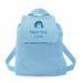 Rucksack für Kinder hellblau Pirat