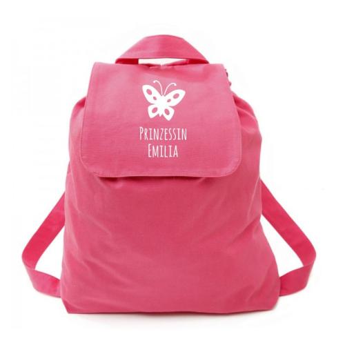 Rucksack für Kinder pink Prinzessin