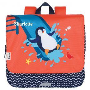 Personalisierter Kindergarten-Rucksack Tann's Pinguin