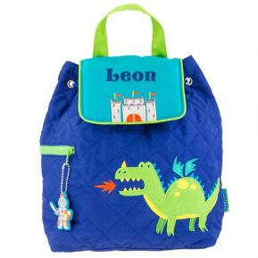 Kinderrucksack Drachen personalisiert
