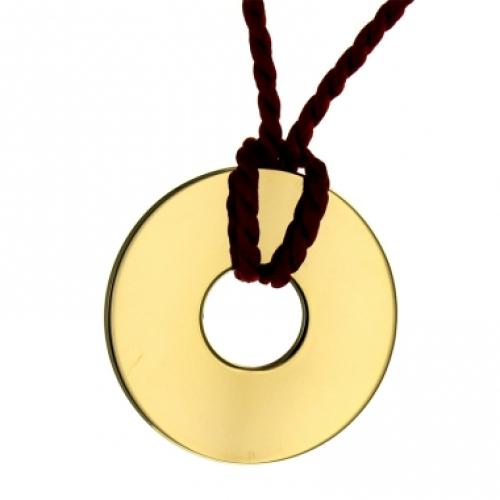 Halsband Jeton vergoldet