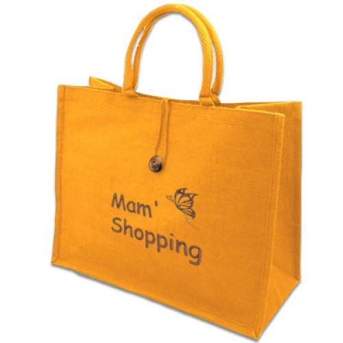 Shoppingbag mit individueller Bestickung