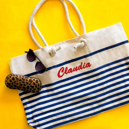 Matrosen-Strandtasche personalisiert
