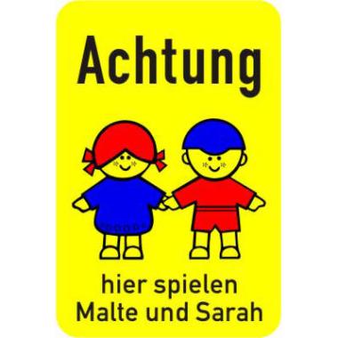 Kinderhinweisschild