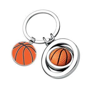 Schlüsselanhänger Basketball mit Gravur
