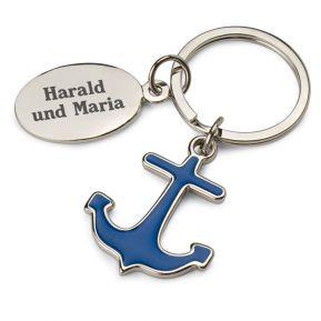 Schlüsselanhänger des Seemanns - personalisiert
