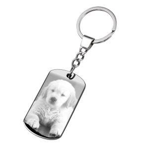 Schlüsselanhänger mit Foto von Ihrem Haustier