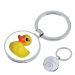 Schlüsselanhänger Ente mit Gravur