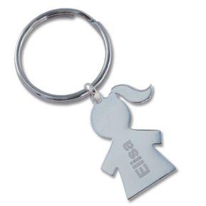 Schlüsselanhänger Mädel 2