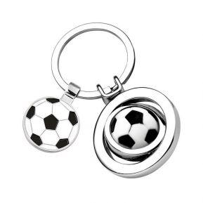 Gravierter Schlüsselanhänger - Fußball