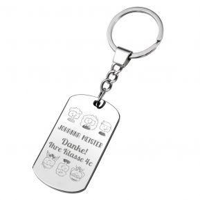 Schlüsselanhänger Platte für Lehrerin